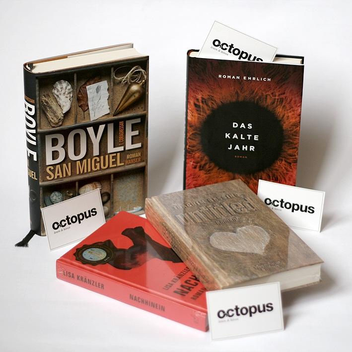 The Best for the Fest: Die Bücher des Jahres 2013 zum Gewinnen.